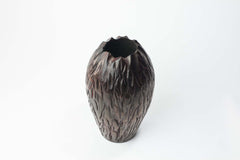 "Wood Vase - ""Red Lava"" secondary image"