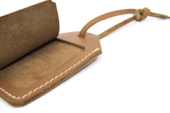 Premium Leather Luggage Tag secondary image