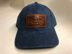 Hat with Leather Patch - Narrow Gate Trading Co. secondary image
