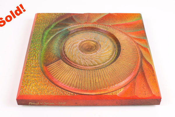 Colorburst Square Wall Hanging
