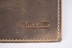 Classic Leather Journal/Notebook - Imprinted secondary image