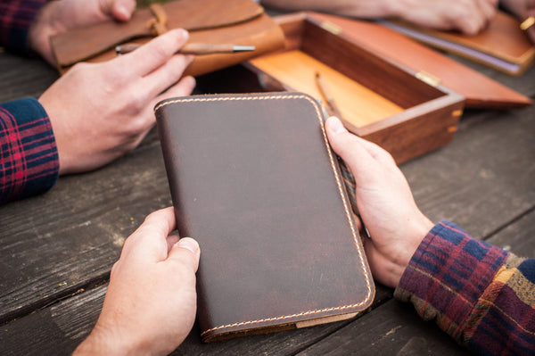 Classic Leather Journal - Personal Size