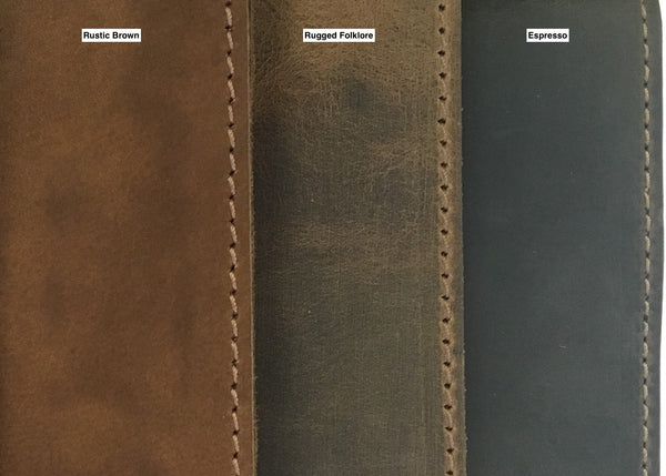 Classic Leather Journal Wrap Style - Standard Size