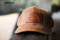 Hat with Leather Patch - Narrow Gate Lodge secondary image