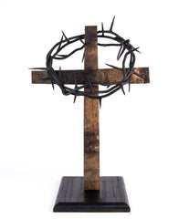 Rugged Cross Stand for Crown of Thorns secondary image