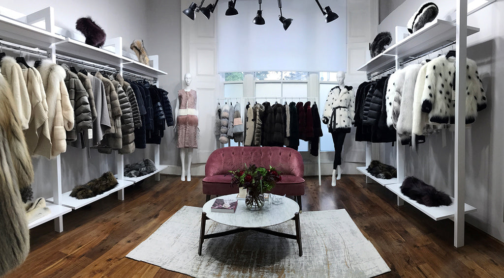 CARA MILA Showroom Atelier in Central London