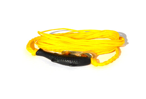 Yellow Gone Fishing String Bracelet