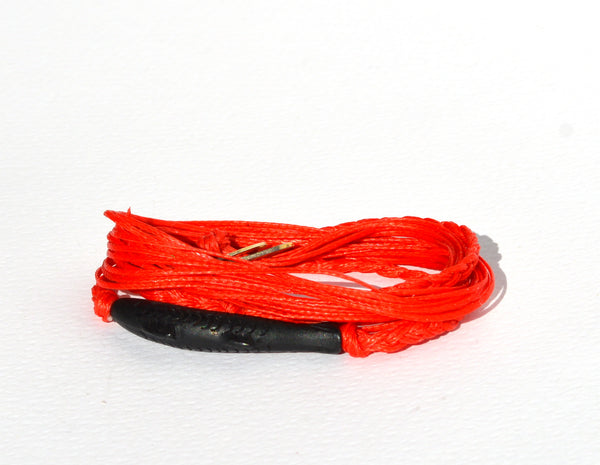 Red Gone Fishing String Bracelet
