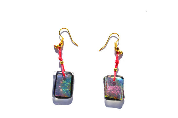 A Touch of Glass Earrings