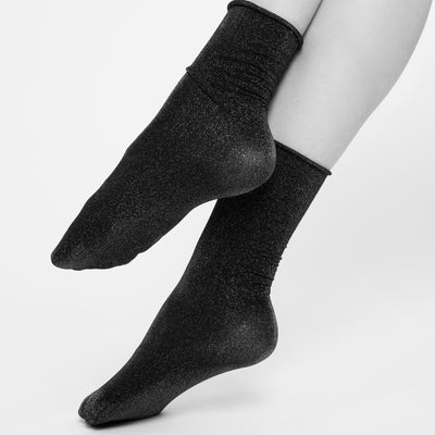 Swedish Stockings Lisa Lurex Socks Gold