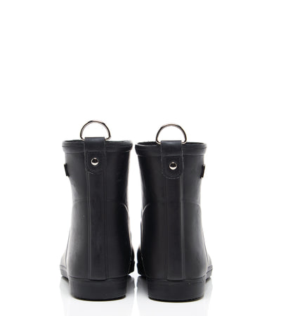 Classic Black Ankle Rain Boot