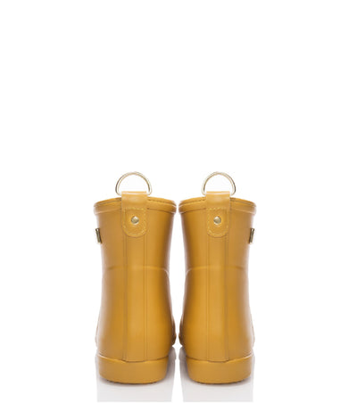 Classic Moutarde D'or Ankle Rain Boot