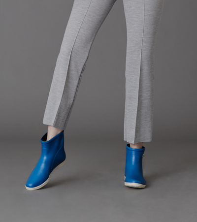 Classic Cobalt Blue Ankle Boot