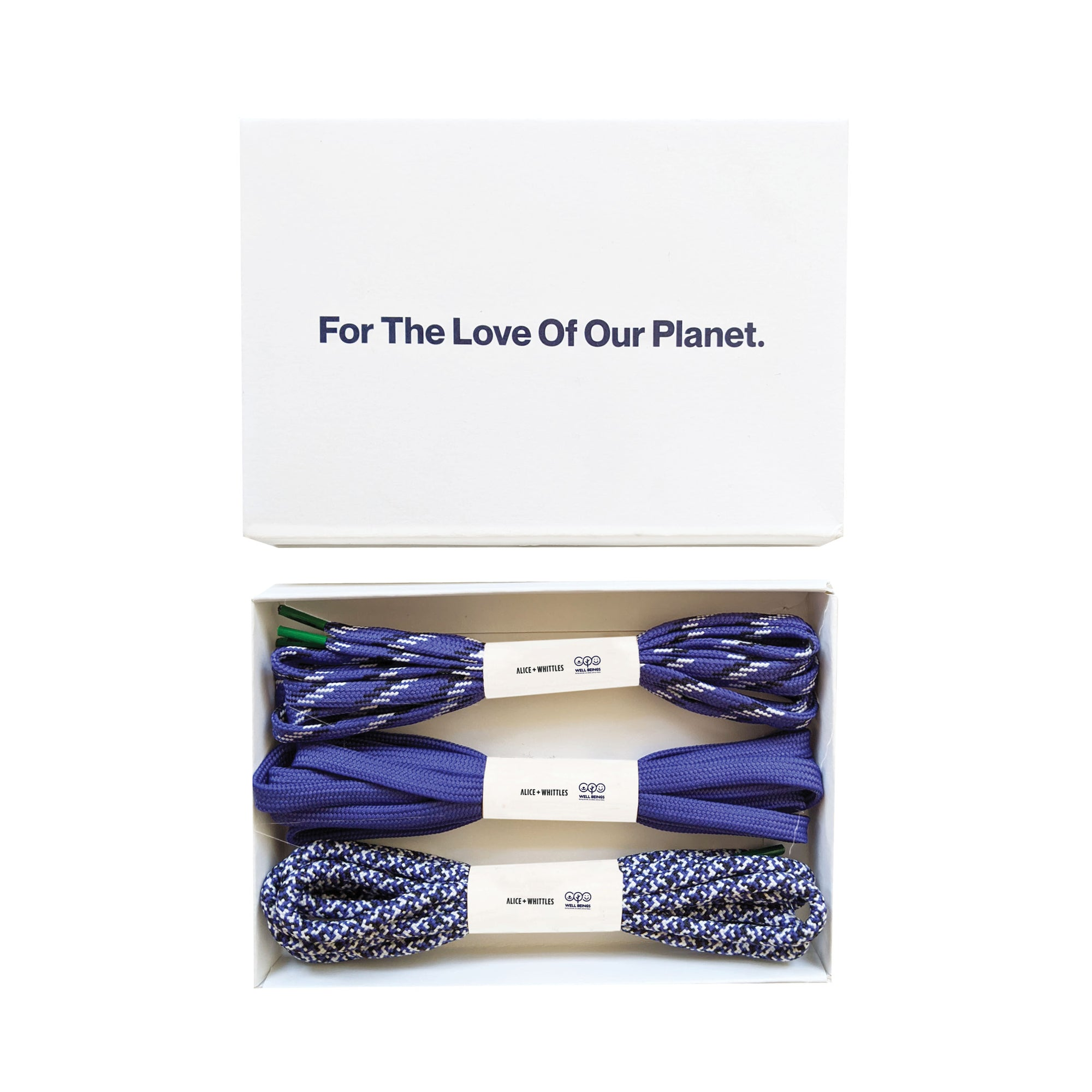 Purple Laces (x3). 100% Of Profits Donated.