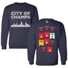 City of Champtions Ugly Sweater