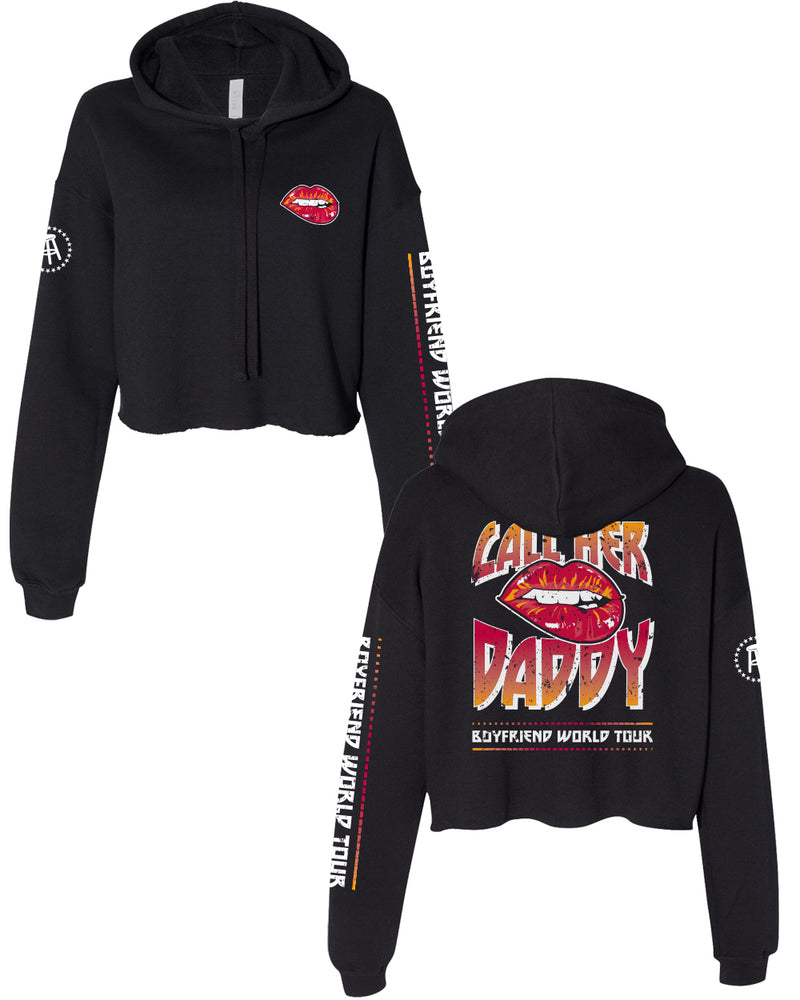 Boyfriend World Tour Cropped Hoodie