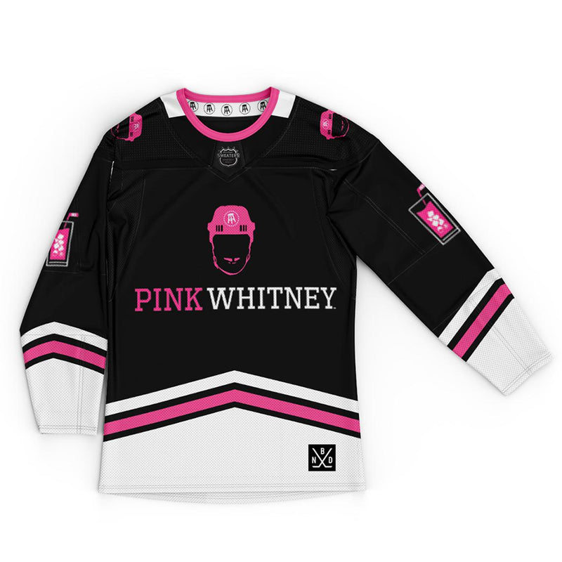 Pink Whitney Hockey Jersey