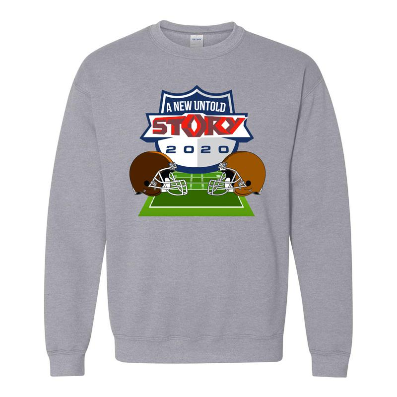 A New Untold Story Football Crewneck
