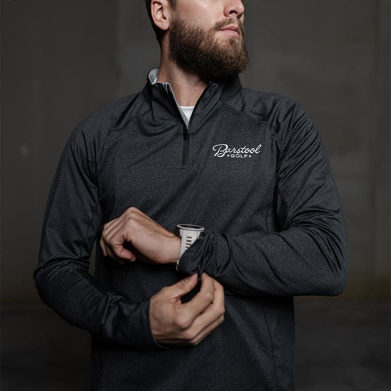 UNRL x Barstool Golf Stride Quarter Zip