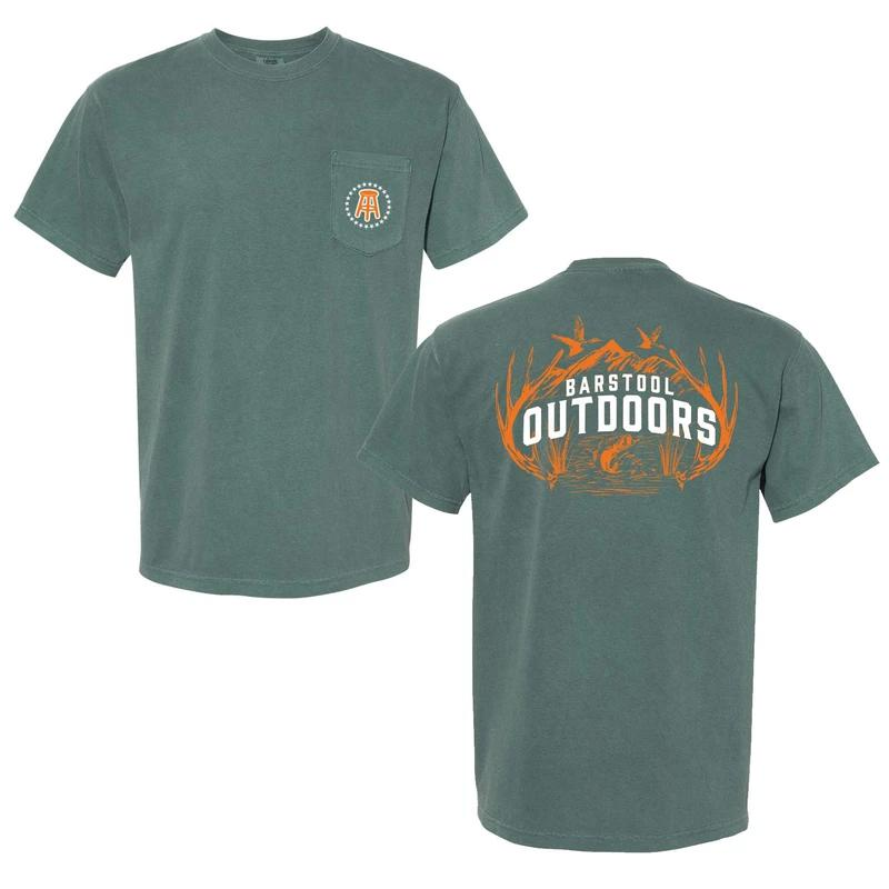Barstool Outdoors Wilderness Pocket Tee