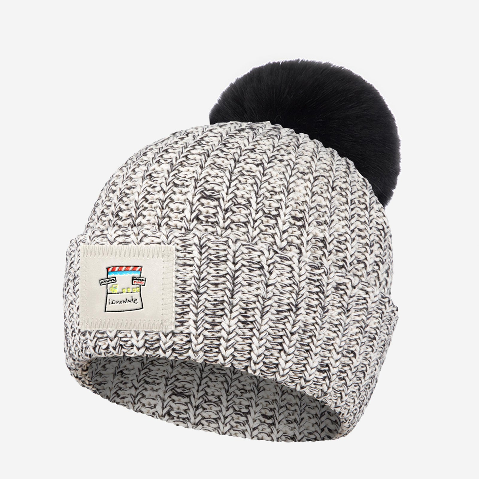 Love Your Melon x Barstool Fund Speckled Pom Beanie