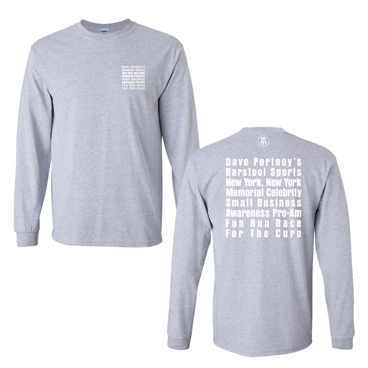 The Barstool Fund Long Sleeve Tee