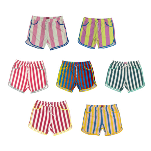b9c7165bc3 Junk in Your Trunks Thick Stripe Swim Trunks