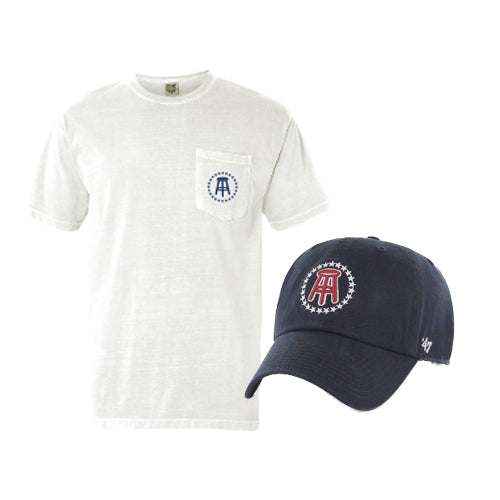 5f31a172e1d05 Stool Star Hat and Pocket Tee Bundle – Barstool Sports