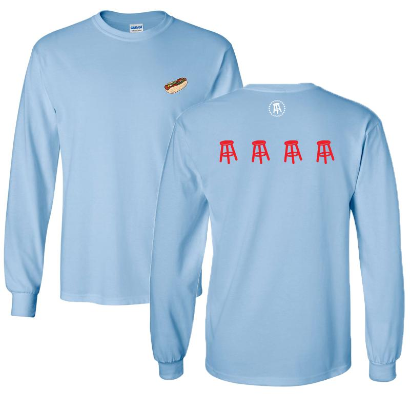 Barstool Chicago Flag II Long Sleeve Tee