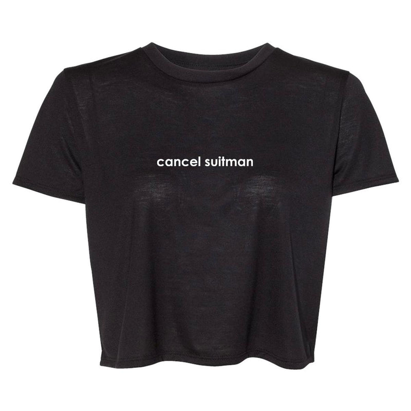 Cancel Suitman Cropped Tee
