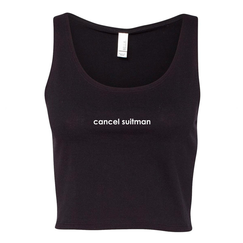 Cancel Suitman Cropped Tank