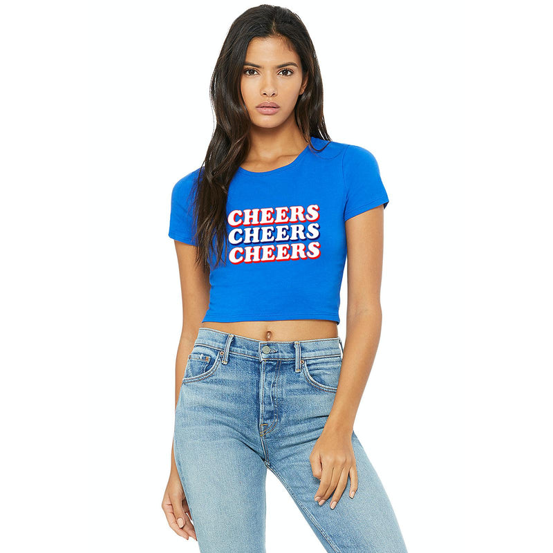 Cheers Cropped Tee