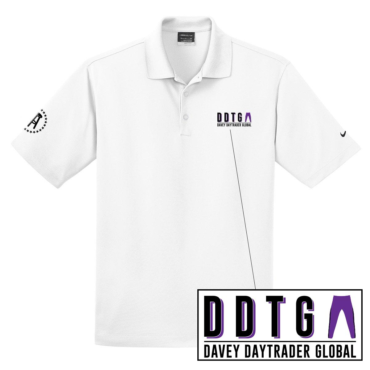 Davey Day Trader Global Nike Polo