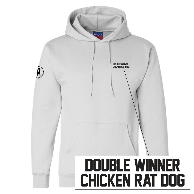 Double Winner Chicken Rat Dog LC Hoodie