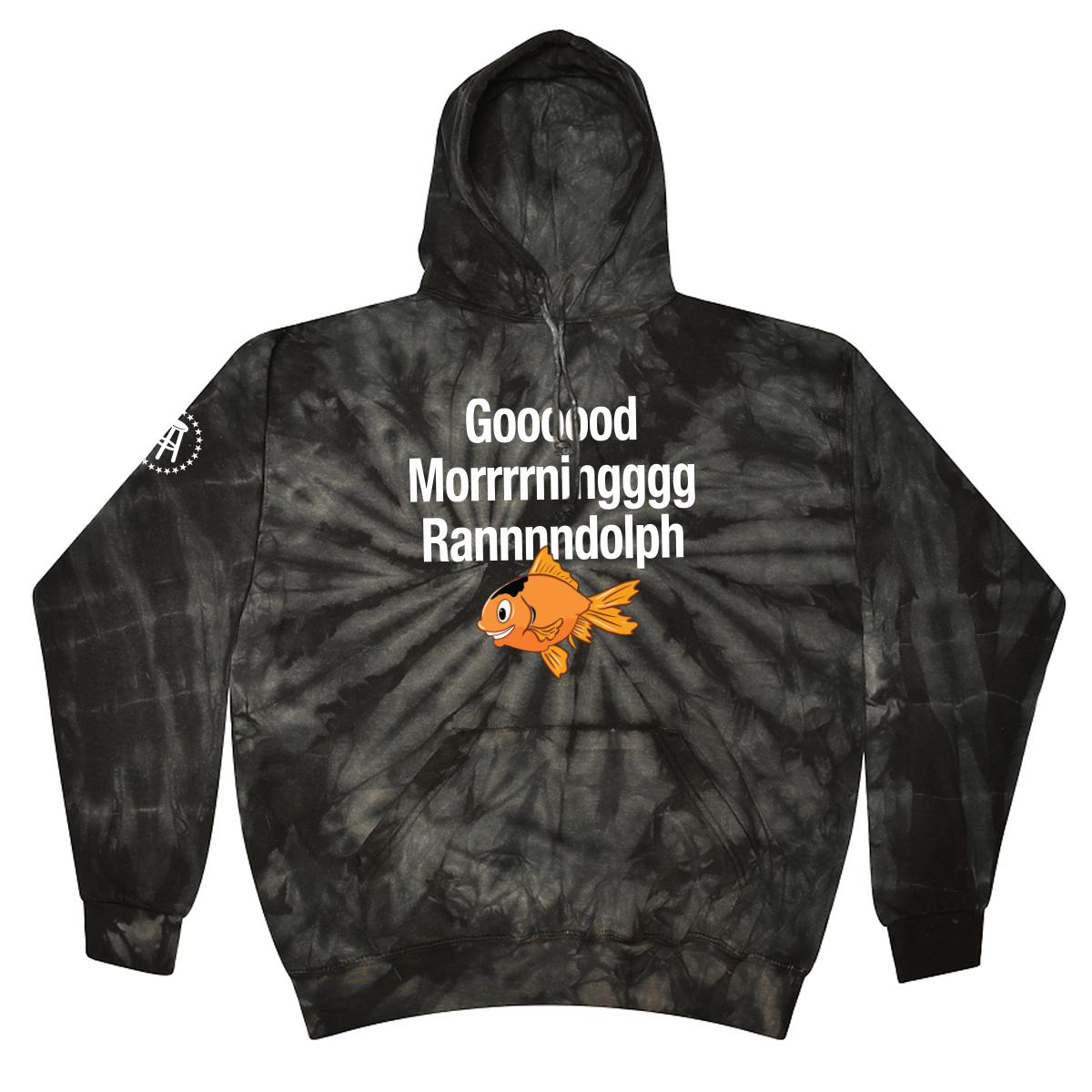 Good Morning Randolph Tie Dye Hoodie