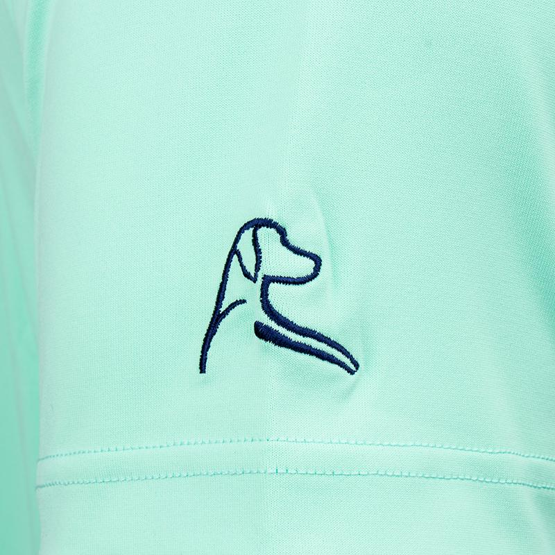 "Rhoback x Barstool Golf ""The Mint"" Polo"