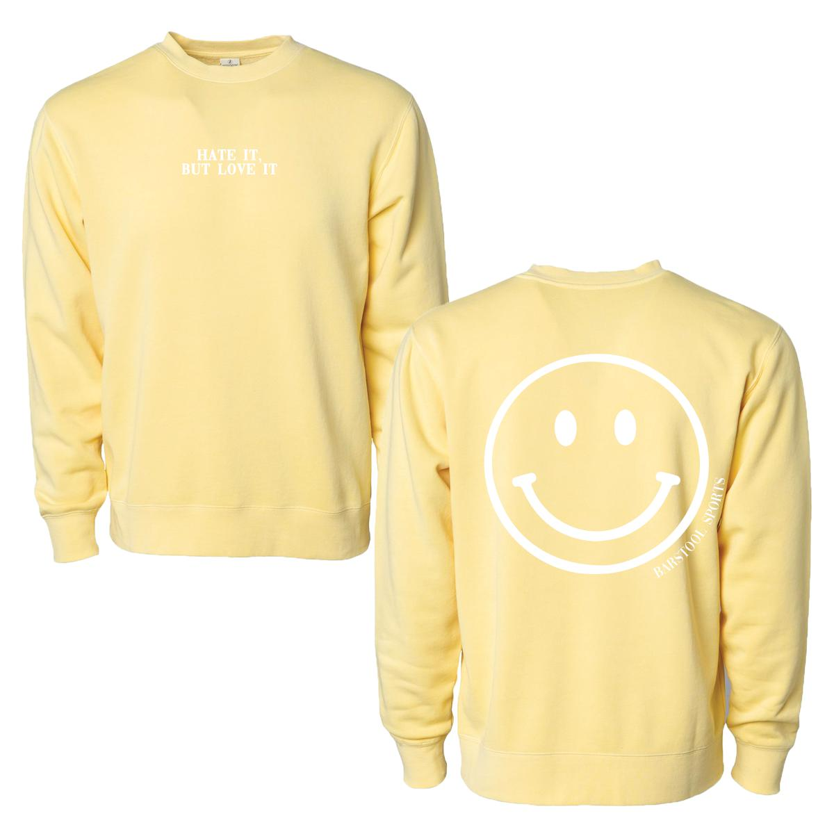Hate It, But Love It Crewneck