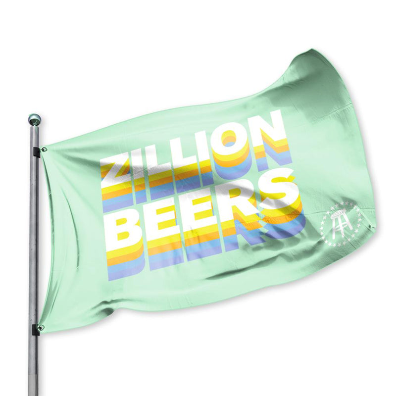 Zillion Beers Flag