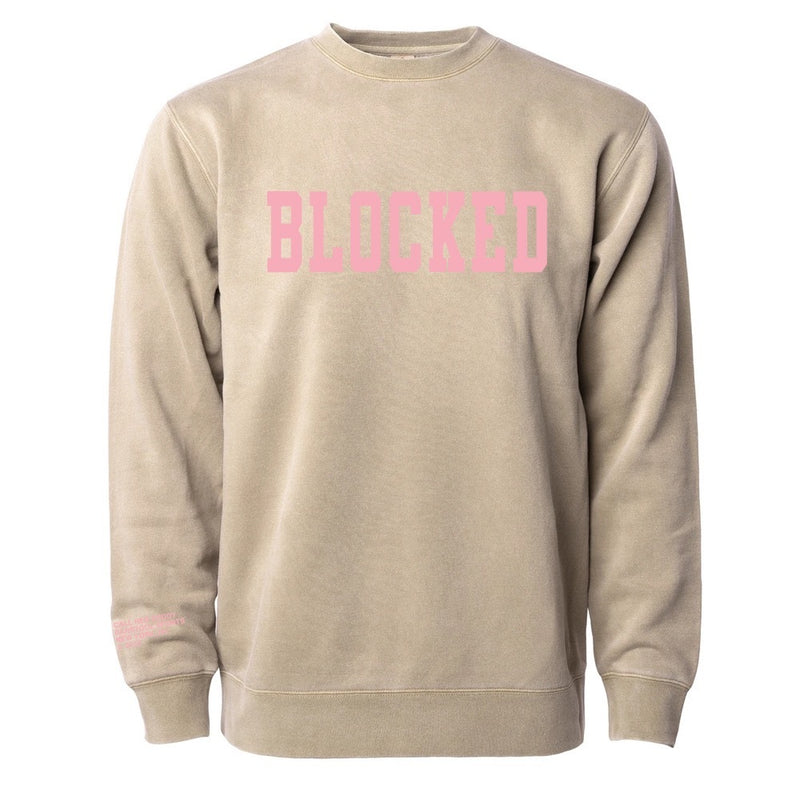 Blocked Crewneck