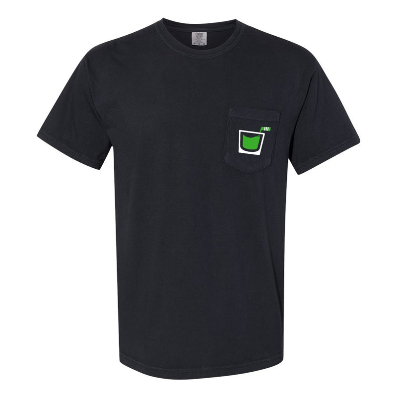 Pink Whitney St Patricks Day Pocket Tee
