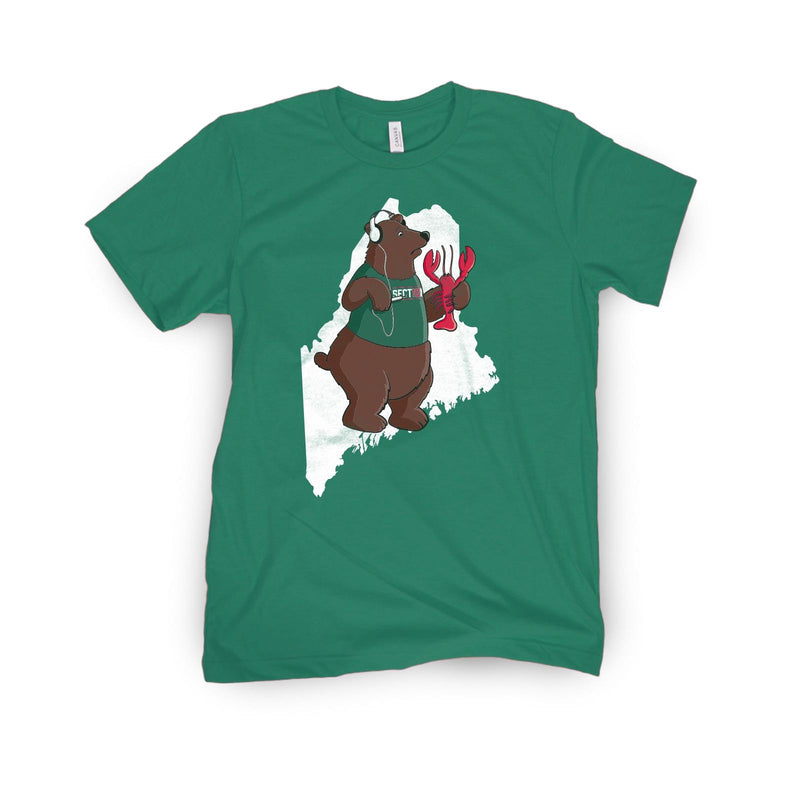 Section 10 Maine Bear Tee