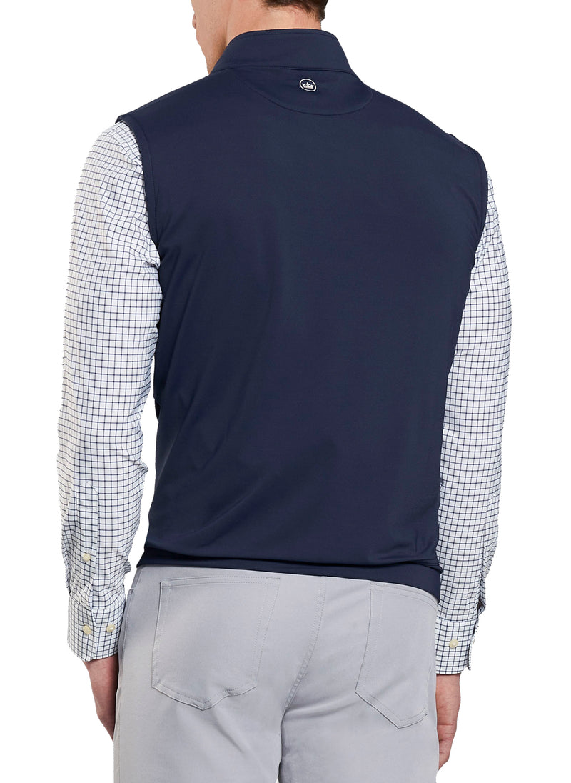 Peter Millar x Barstool Golf Terry Quarter-Zip Vest