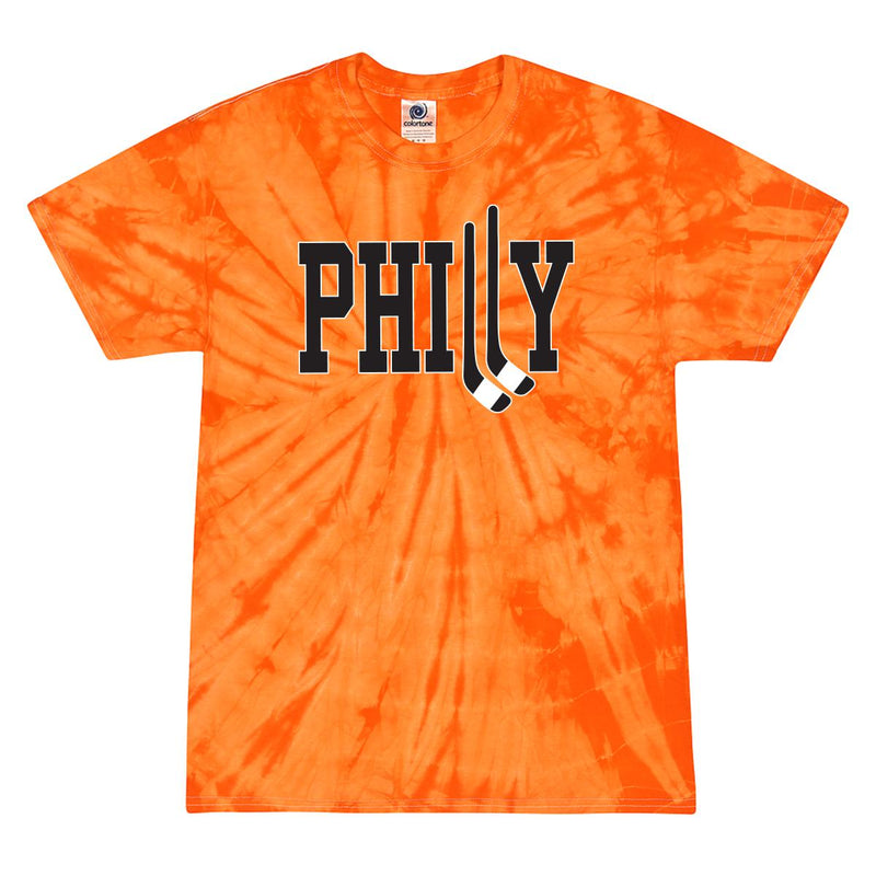 Philly Hockey Tie Dye Tee