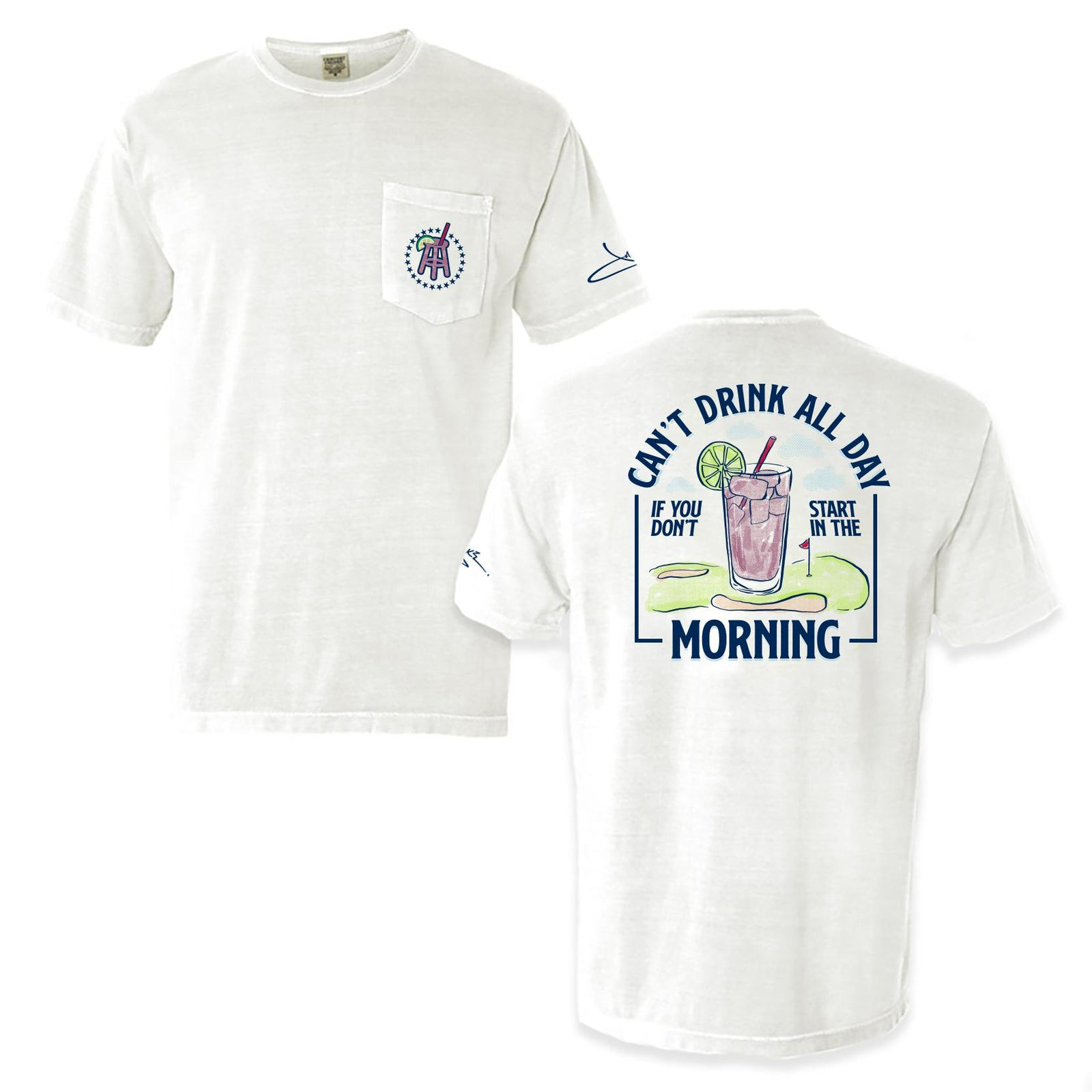 Morning Transfusion Pocket Tee