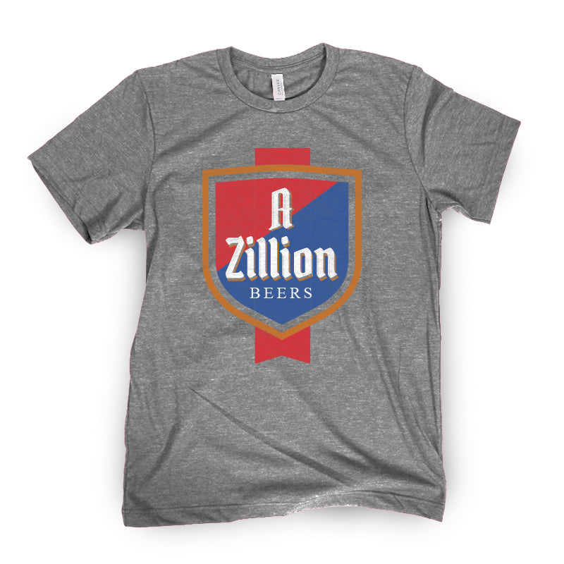 Zillion Beers Shield Tee