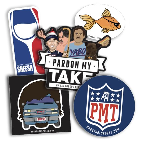 Pardon My Take 2 Sticker Pack