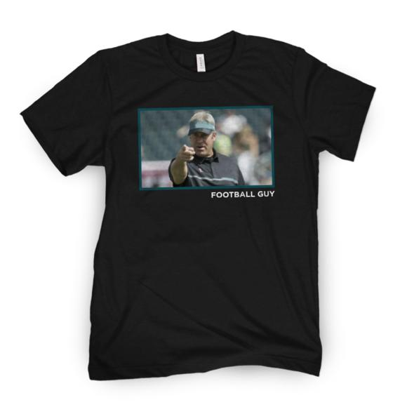 Football Guy Point Tee
