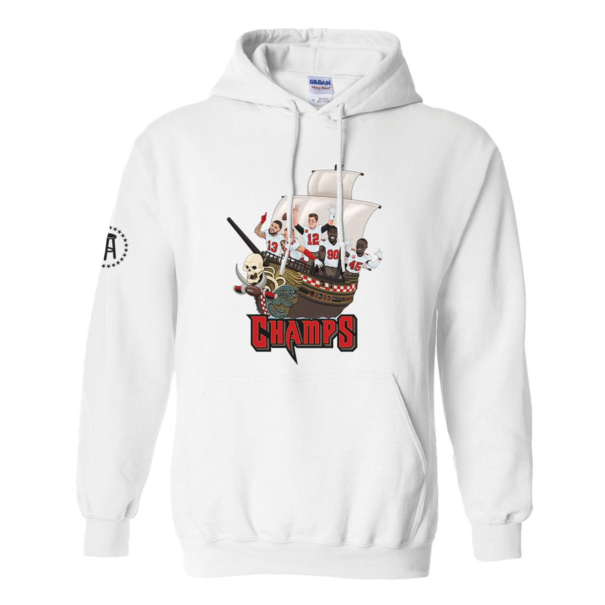 Pirate Ship Champs Hoodie