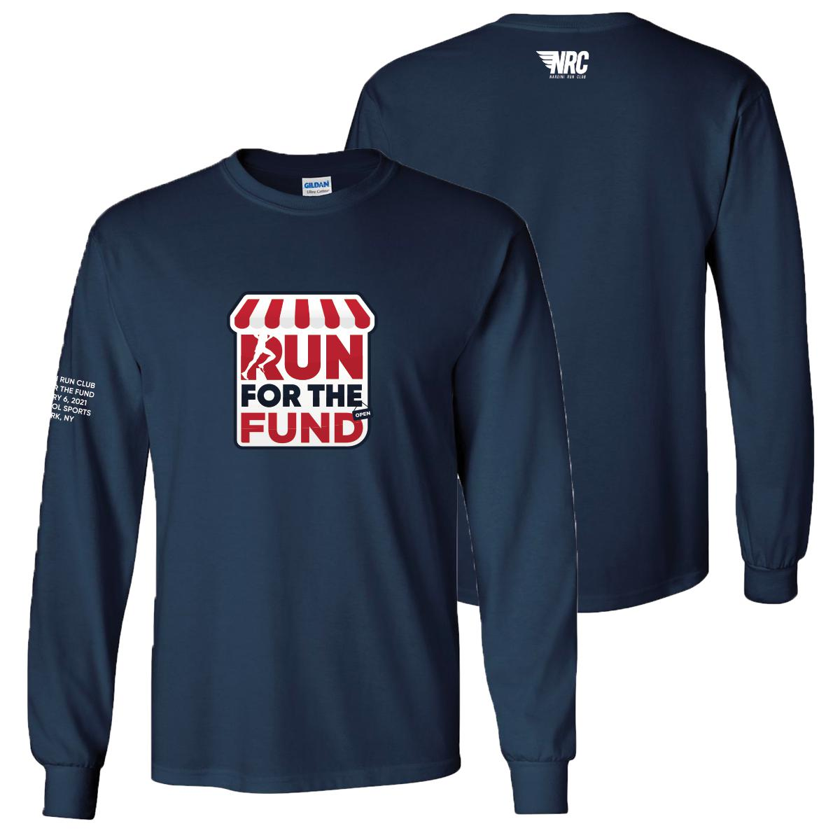Run For The Fund Long Sleeve Tee