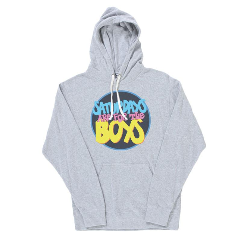 Saturdays Are for the Boys 1 Hoodie
